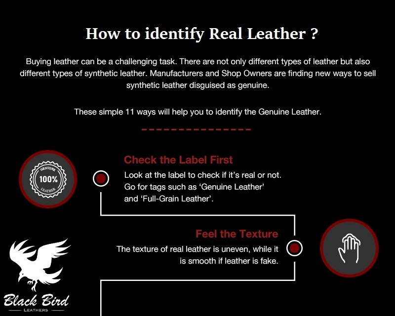 identify real leather