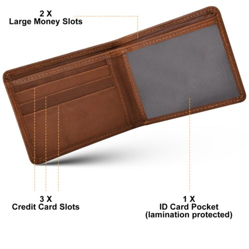 leather wallets dollar size